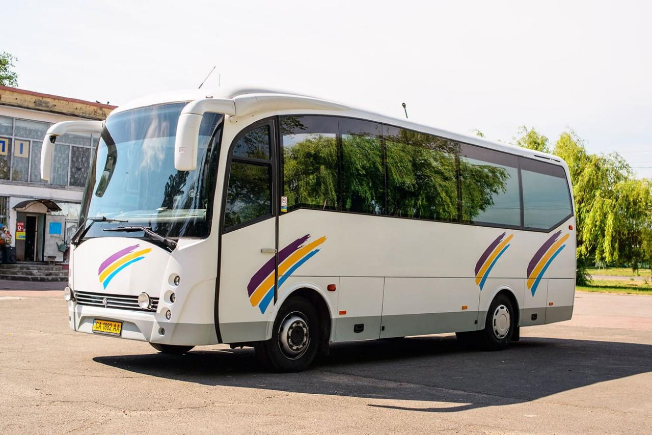 Заказать автобус в Черкассах